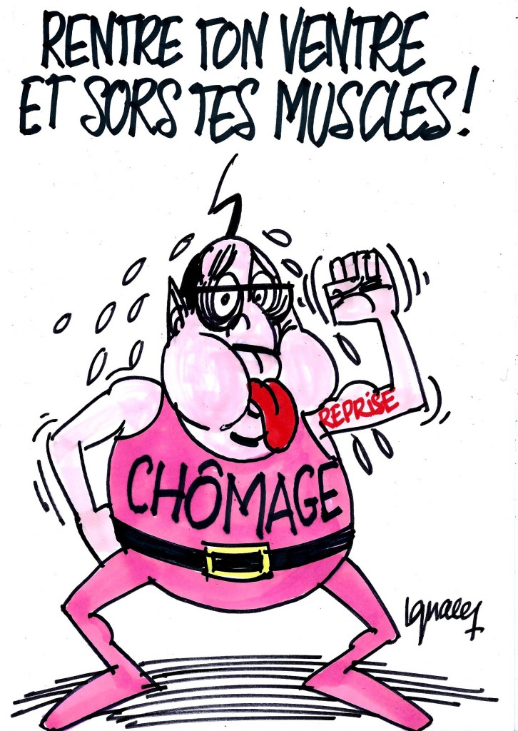 Ignace - Hollande et l'inversion du chômage