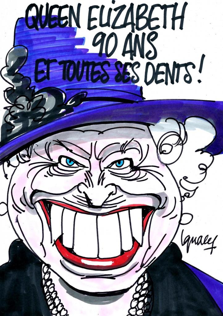 Ignace - Queen Elizabeth, 90 ans et toutes ses dents !
