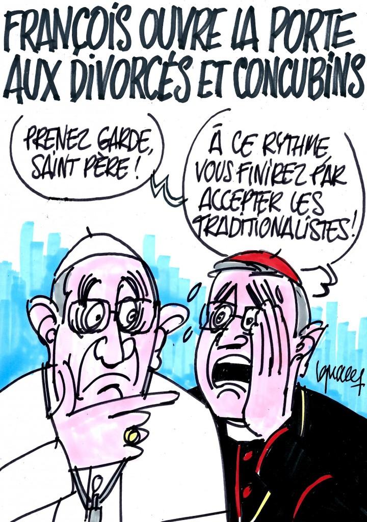 Ignace - François ouvert aux divorcés et concubins