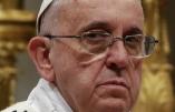 Joyeux anniversaire à l'avance, le pape François jette un froid: «cela porte malchance»