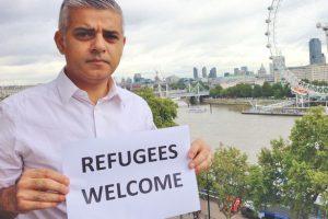 """Sadiq Khan milite bien entendu pour l'accueil des """"réfugiés"""""""