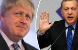 L'ancien maire de Londres Boris Johnson gagne un «concours de poèmes insultants» Recep Erdogan