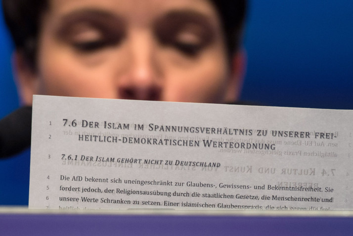 GERMANY-POLITICS-AFD-EUROPE-MIGRANTS