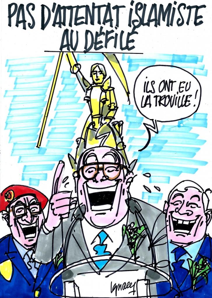 Ignace - Défilé de Jeanne d'Arc sans attentat