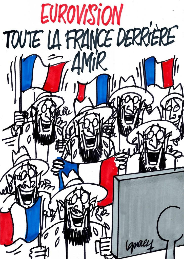 Ignace - Eurovision : toute la France derrière Amir