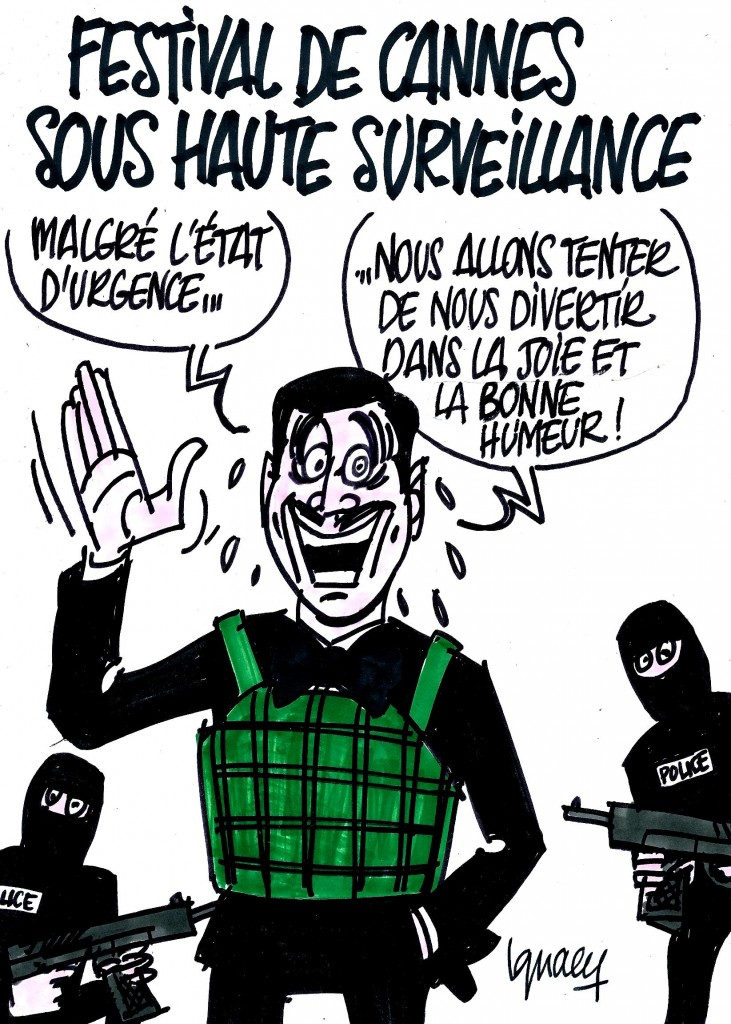Ignace - Festival de Cannes sous haute surveillance