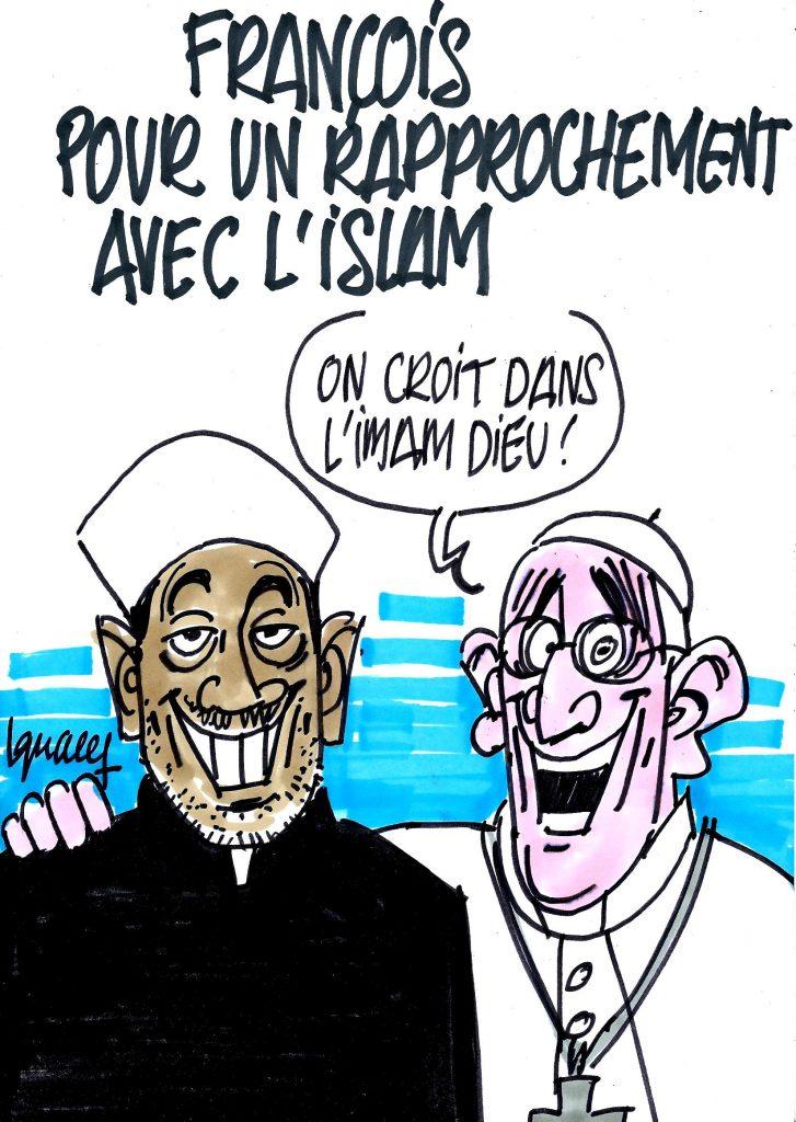 Ignace - François pour un rapprochement avec l'islam