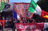 «Défendre l'Italie» : des milliers de manifestants à l'appel de Casapound
