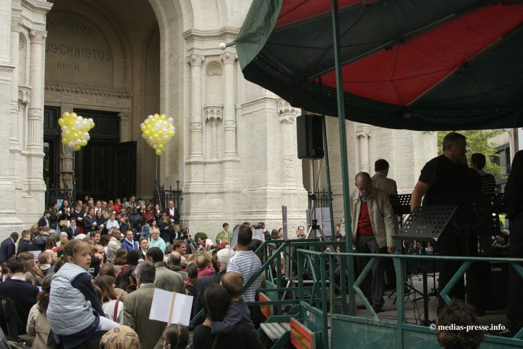 MPI - 20160619 - Bruxelles - Mobilisation Sainte-Catherine - 1