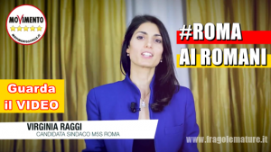 Virginia Raggi Rome