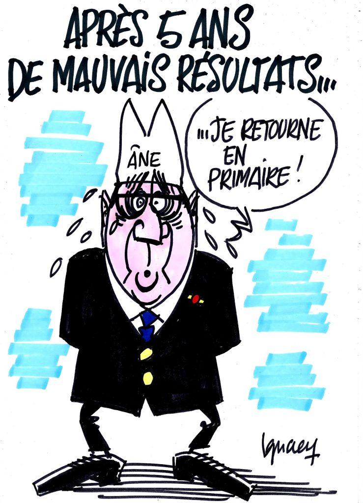 Ignace - Hollande et ses mauvais résultats