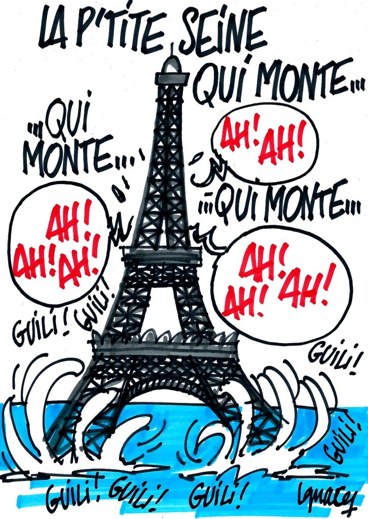 Ignace - Crue de la Seine