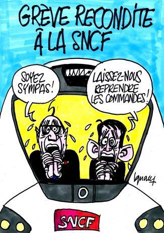 Ignace - Grève reconduite à la SNCF