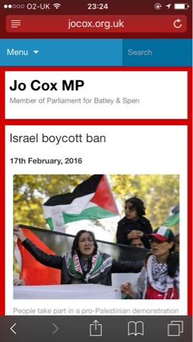 jo-cox-boycott-israel