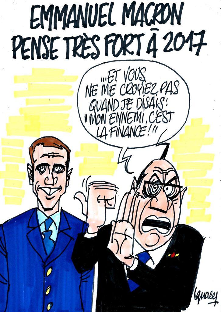 Ignace - Macron probable candidat pour 2017