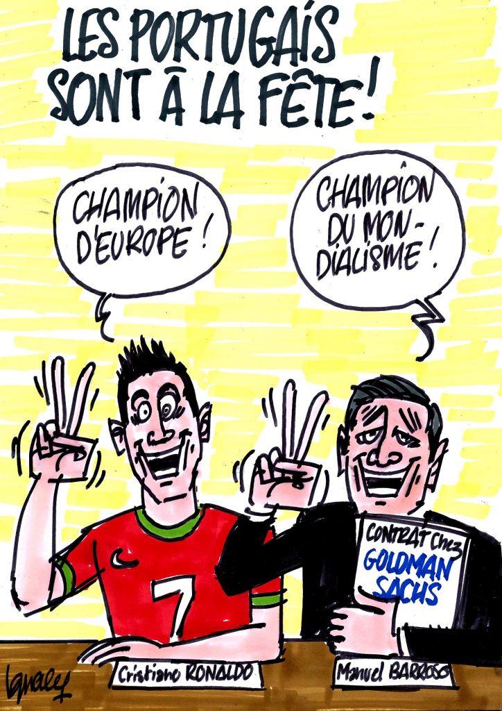 Ignace - Manuel Barroso champion !