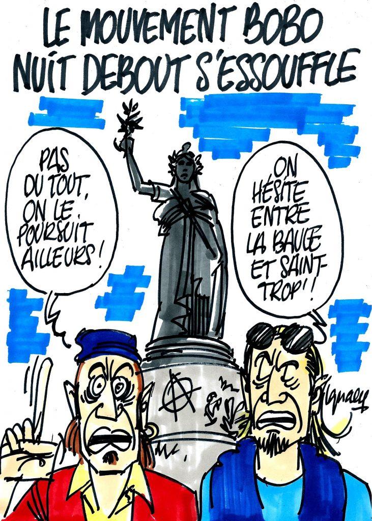 Ignace - Nuit Debout s'endort