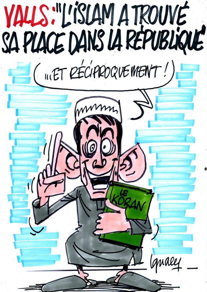 Ignace - Valls, la république et l'islam