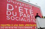Peur sur l'université d'été du Parti socialiste