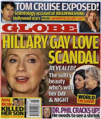 clinton-Hillary-lesbienne-Huma Abedin GLOBE