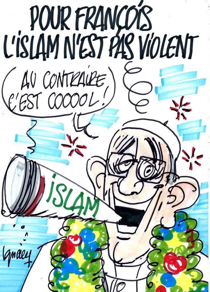 Ignace - Pour François, l'islam n'est pas violent