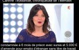 La journaliste Carinne Teyssandier condamnée pour avoir employé un étranger en situation irrégulière