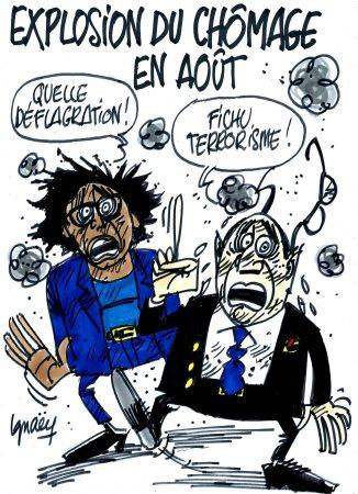 Ignace - Explosion du chômage en août