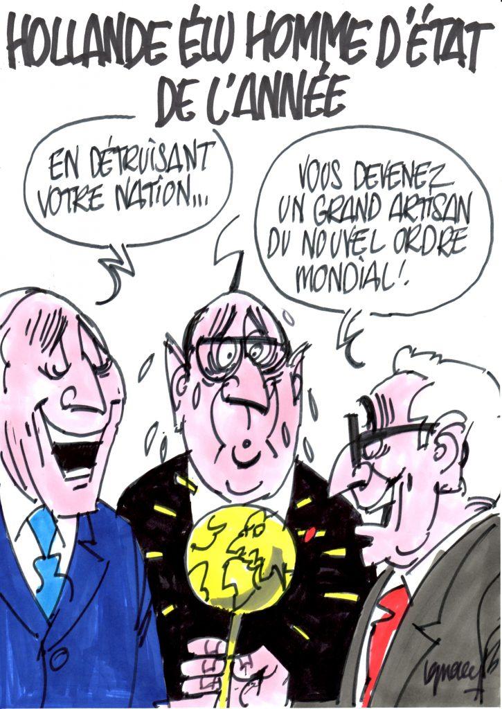 """Ignace - Hollande, """"Homme d'État de l'année"""""""