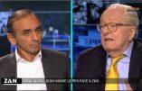 Jean-Marie Le Pen face à Zemmour & Nolleau, savoureux et si vrai!