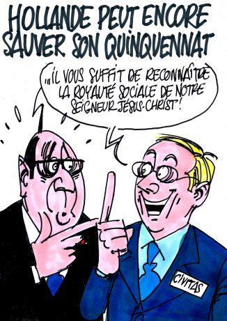 Ignace - Hollande peut encore sauver son quinquennat