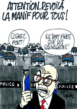 Ignace - Attention, revoilà la Manif pour tous !