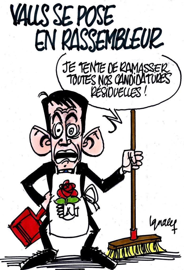 Ignace - Valls se pose en rassembleur