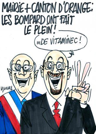 Ignace - Victoire de Yann Bompard à la cantonale d'Orange