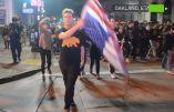 Les gauchistes de Californie manifestent violemment contre la victoire de Donald Trump – Nombreuses manifestations dans tout le pays
