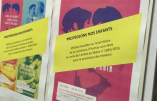 Bataille politique autour des affiches de propagande homosexuelle
