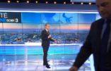 En direct, Jean-Frédéric Poisson quitte le plateau de FR3…