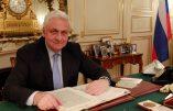 Alexandre Orlov, l'ambassadeur de Russie en France: Barack Obama peut toujours parler, il ne compte plus.