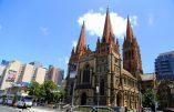 Un «complot terroriste» devait viser la cathédrale de Melbourne pour Noël