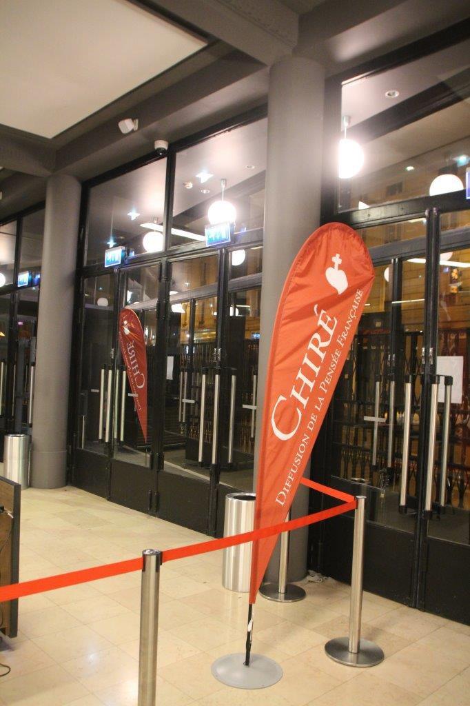 Succès du 1er Grand Salon du Livre de Chiré à la Mutualité à Paris