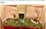 Christian Estrosi ajoute une menorah à la crèche de Noël de la région PACA