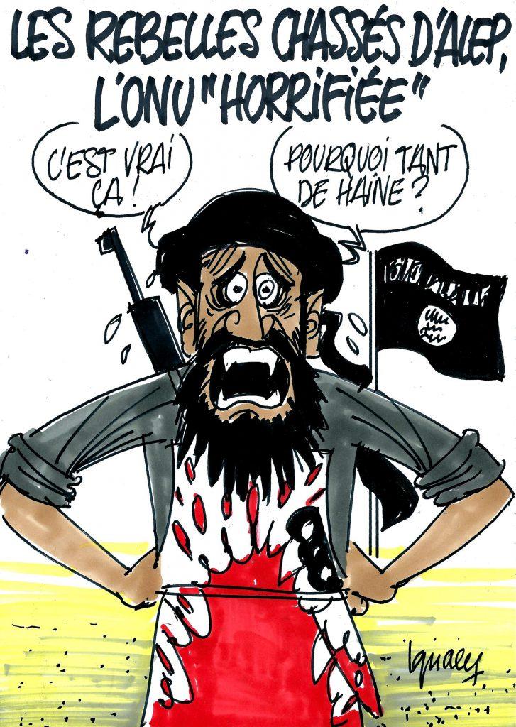 """Alep reprise aux rebelles, l'ONU """"horrifiée"""""""