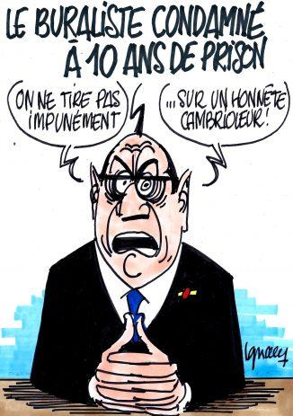 Ignace - Le buraliste condamné à 10 ans de prison