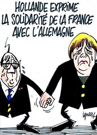 Ignace - Le soutien de la France à l'Allemagne