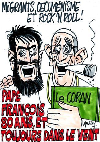 Ignace - Le pape François a 80 ans