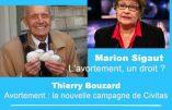 17 janvier 2017 à Paris – Conférence sur l'avortement avec le Dr Dor et Marion Sigaut