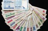 Zimbabwe : après l'homme qui valait 3 milliards, les 100.000 milliards qui ne valaient pas un rond…