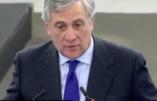 Un Italien proche de Berlusconi, Antonio Tajani, à la tête du Parlement européen