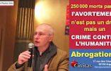 Civitas fait campagne contre l'avortement