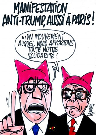 Ignace - Manifestation anti-Trump à Paris