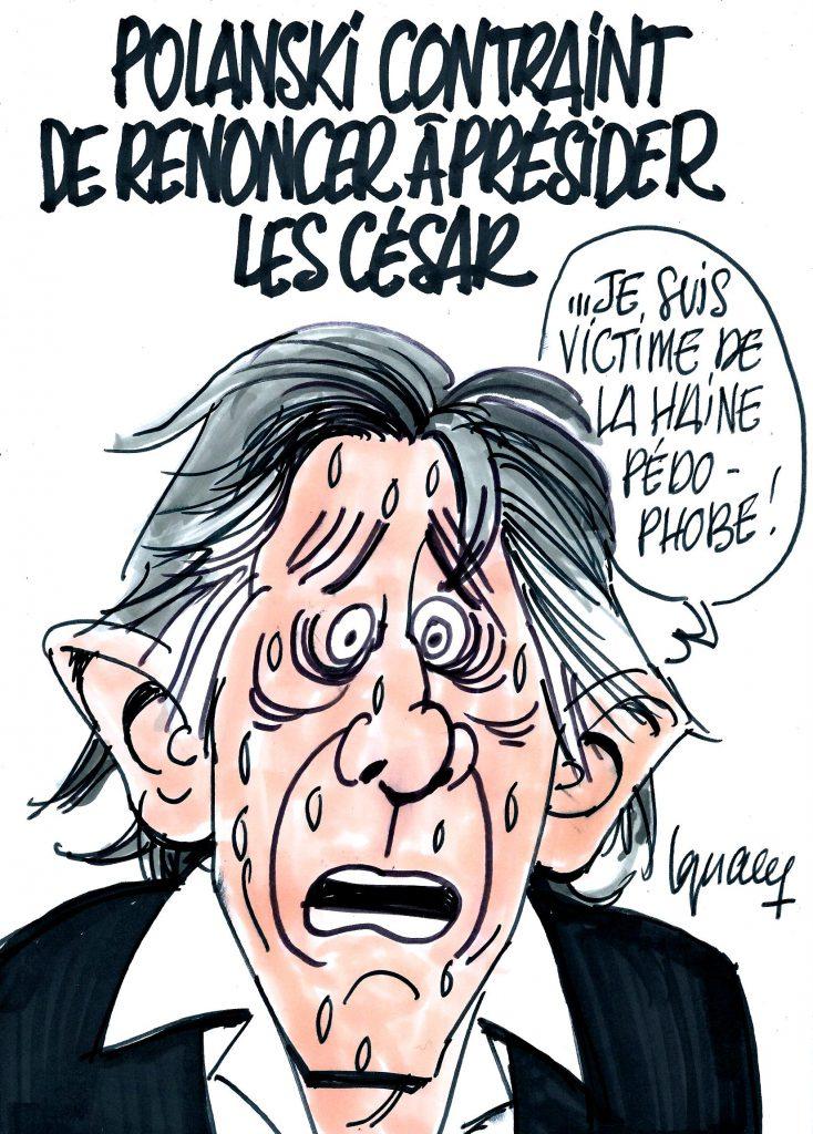 Ignace - Polanski renonce à présider les César